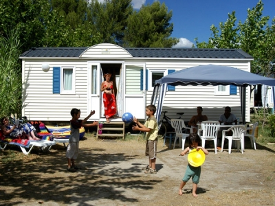 Homair Mobile home Bungalow (A), camp site Camping Acqua e Sole in Corsica - picture 1