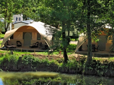 Rent-a-Tent Grand Lodge, camp site Camping La Sirene in Languedoc - picture 1
