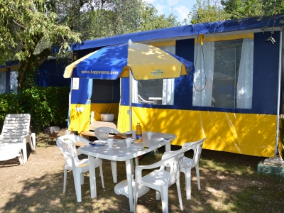 Happy Camp Happy Maxi Tent, camping Camping Bella Italia, Gardameer - foto 1