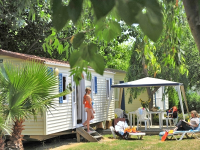 Homair Mobile home Bungalow (F), camp site Camping La Sirene in Languedoc - picture 1