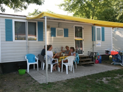 Happy Camp Mobile home Happy Standard Awning, camp site Camping Butterfly in Lake Garda - picture 1