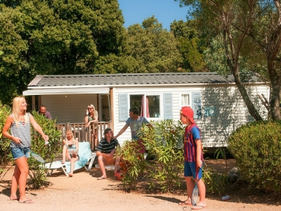 Homair Mobile home Cottage (C), camp site Camping Acqua e Sole in Corsica - picture 1
