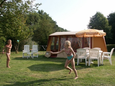 Rent-a-Tent Bungalowzelt Red, Campingplatz Camping Sant Angelo, Adria - Foto 1