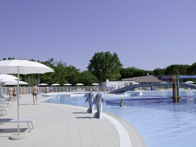Camping Italien, Adriaterhavet- Campingplads Adriano Camping Village - mobilhomes og telte - billede 1