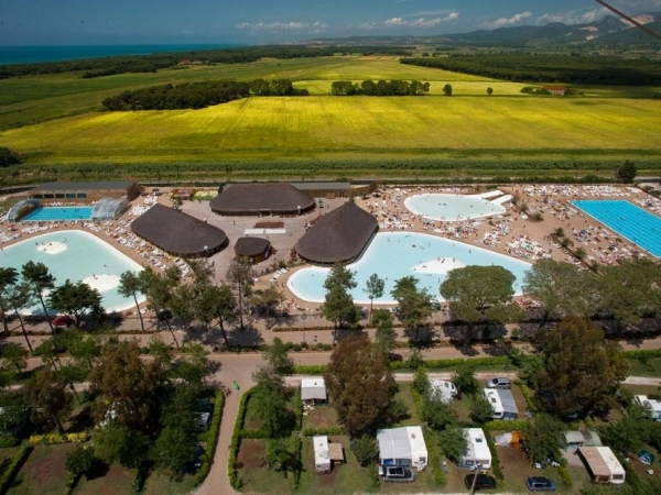Campingplads Camping Park Albatros - camping Italien, Toscana - mobilhomes og telte - billed 1