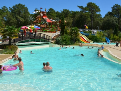 Camping holiday France, Aquitaine - Campingsite Camping Cote D'Argent - mobile homes and tents - picture 1