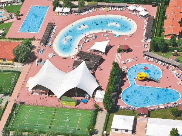 familie camping italien