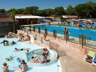 Camping holiday France, Côte d'Azur - Campingsite Camping La Bastiane - mobile homes and tents - picture 1