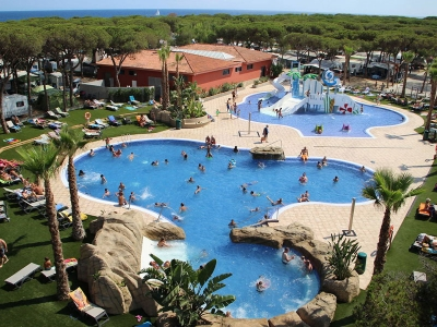 Camping holiday Spain, Costa Brava - Campingsite Camping Bella Terra - mobile homes and tents - picture 1