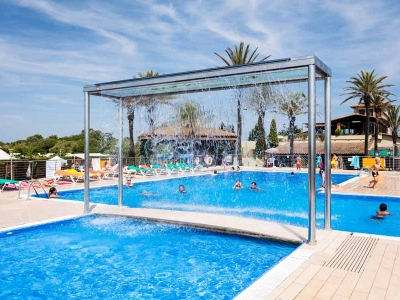Camping holiday Spain, Costa Brava - Campingsite Camping Castell Mar - mobile homes and tents - picture 1