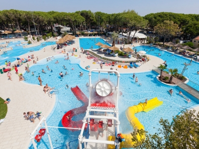 Camping Italien, Adriaterhavet- Campingplads Camping Ca Pasquali - mobilhomes og telte - billede 1