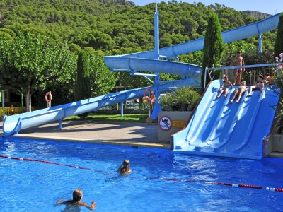 Camping holiday Spain, Costa Brava - Campingsite Camping Castell Montgri - mobile homes and tents - picture 1
