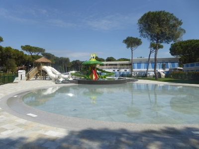 Camping Italien, Adriaterhavet- Campingplads Camping Cavallino - mobilhomes og telte - billede 1
