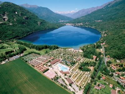 Camping Italien, Maggiores�en- Campingplads Camping Village Continental Lido - mobilhomes og telte - billede 1