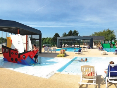 Camping holiday France, Picardy - Campingsite Domaine de Drancourt - mobile homes and tents - picture 1