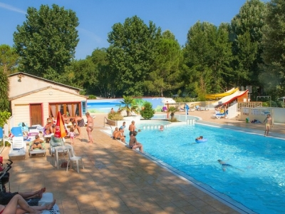 Camping holiday France, Languedoc - Campingsite Camping Domaine de Gaujac - mobile homes and tents - picture 1
