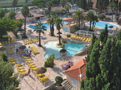 Camping holiday France, Côte d'Azur - Campingsite Camping L'Etoile d'Argens - mobile homes and tents - picture 1