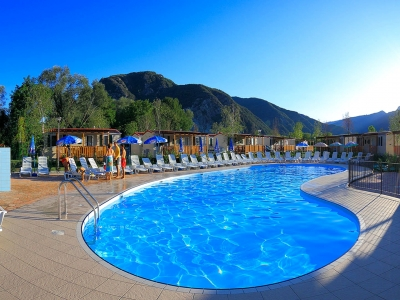 Camping Italien, Maggiores�en- Campingplads Residence Conca d'Oro - mobilhomes og telte - billede 1