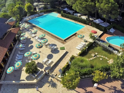 Camping Italien, Toscana- Campingplads Camping Free Beach - mobilhomes og telte - billede 1