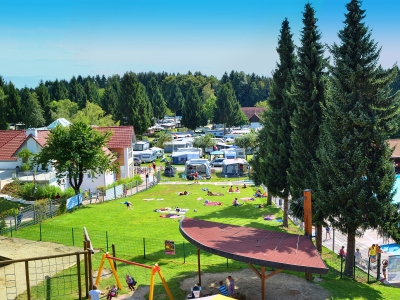 Camping holiday Germany, Baden-Württemberg - Campingsite Camping Gitzenweiler Hof - mobile homes and tents - picture 1