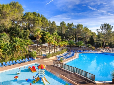 Camping holiday France, Côte d'Azur - Campingsite Camping Holiday Green - mobile homes and tents - picture 1