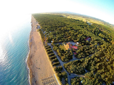 Camping Italien, Toscana- Campingplads Camping Le Esperidi - mobilhomes og telte - billede 1