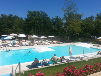 Camping Italien, Toscana- Campingplads Camping Orlando in Chianti - mobilhomes og telte - billede 1