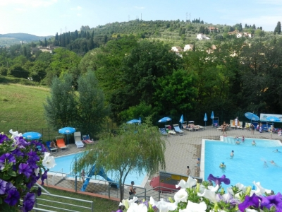 Camping Italien, Toscana- Campingplads Camping Il Poggetto - mobilhomes og telte - billede 1