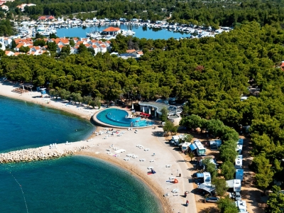 Camping holiday Croatia, Dalmatian Coast - Campingsite Camping Beach Resort Solaris - mobile homes and tents - picture 1