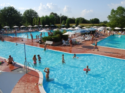 Camping Italien, Toscana- Campingplads Camping La Chiocciola - mobilhomes og telte - billede 1