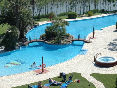 Camping Spanien, Costa Brava- Campingplads Camping Nautic Almata - mobilhomes og telte - billede 1
