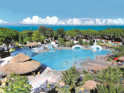 Camping Italien, Adriaterhavet- Campingplads Camping Pino Mare - mobilhomes og telte - billede 1
