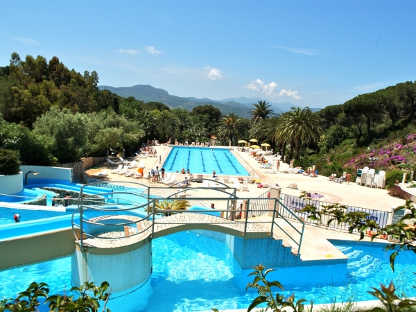Campingplads Camping Rosselba le Palme - camping Italien, Elba - mobilhomes og telte - billed 1