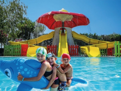 Camping Italien, Adriaterhavet- Campingplads Camping Rubicone - mobilhomes og telte - billede 1