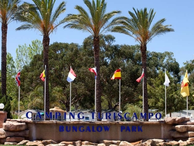 Camping Portugal, Algarve- Campingplads Camping Turiscampo - mobilhomes og telte - billede 1