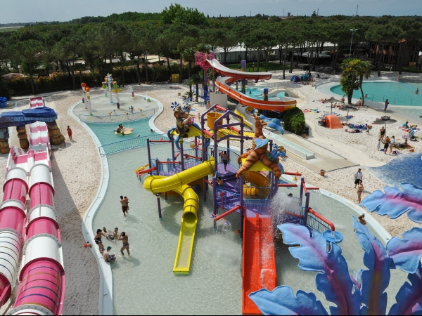 Campingplads Camping Union Lido - camping Italien, Adriaterhavet - mobilhomes og telte - billed 1