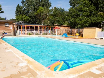 Camping holiday France, Languedoc - Campingsite Camping Le Val de Cesse - mobile homes and tents - picture 1