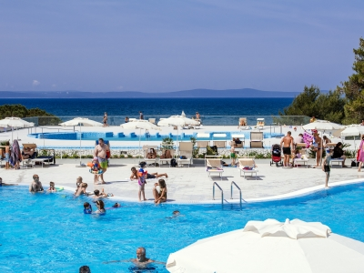 Camping holiday Croatia, Dalmatian Coast - Campingsite Camping Zaton - mobile homes and tents - picture 1