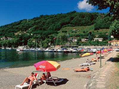 Camping Italien, Maggiores�en- Campingplads Camping Solcio - mobilhomes og telte - billede 1