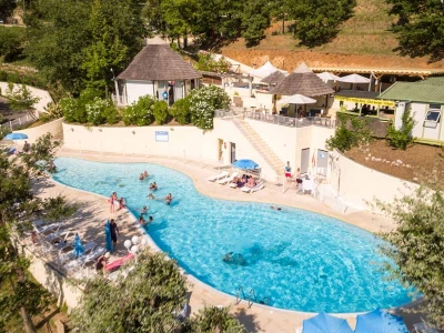 Camping holiday France, Côte d'Azur - Campingsite Camping Green Park - mobile homes and tents - picture 1