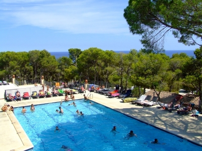 Camping holiday Spain, Costa Brava - Campingsite Camping Internacional de Calonge - mobile homes and tents - picture 1