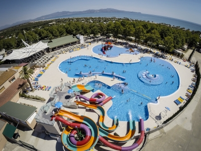 Camping holiday Spain, Costa Brava - Campingsite Camping Las Dunas - mobile homes and tents - picture 1