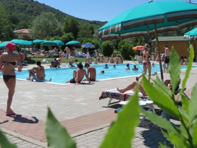 Camping Italien, Toscana- Campingplads Camping Villaggio Le Ginestre - mobilhomes og telte - billede 1