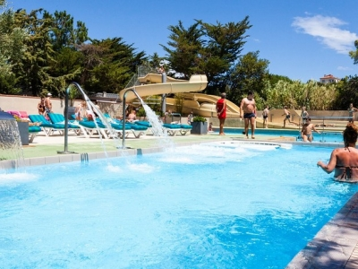 Camping holiday France, Languedoc - Campingsite Camping Criques de Porteils - mobile homes and tents - picture 1