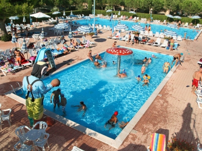 Camping Italien, Adriaterhavet- Campingplads Camping Centro Vacanze Salinello - mobilhomes og telte - billede 1