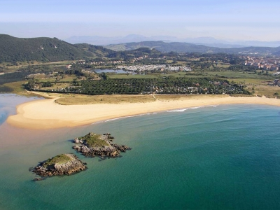 Camping Spain - camp sites in Cantabria / Costa Verde - camping holiday in mobile homes and  tents