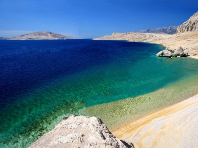 Camping Croatia - camp sites in Pag Island - camping holiday in mobile homes and  tents